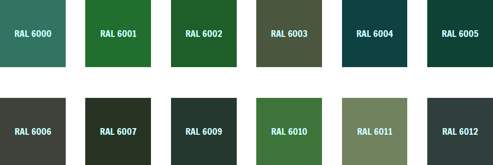 Ral Colours Llac